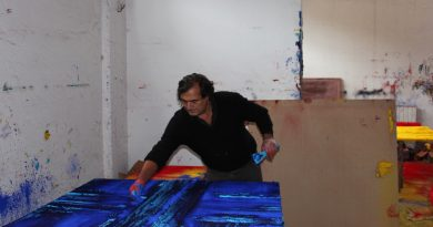 Marcello Lo Giudice _ Sun and Oceans paintings